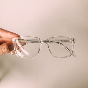 Warby Parker Clear Chamberlain Glasses